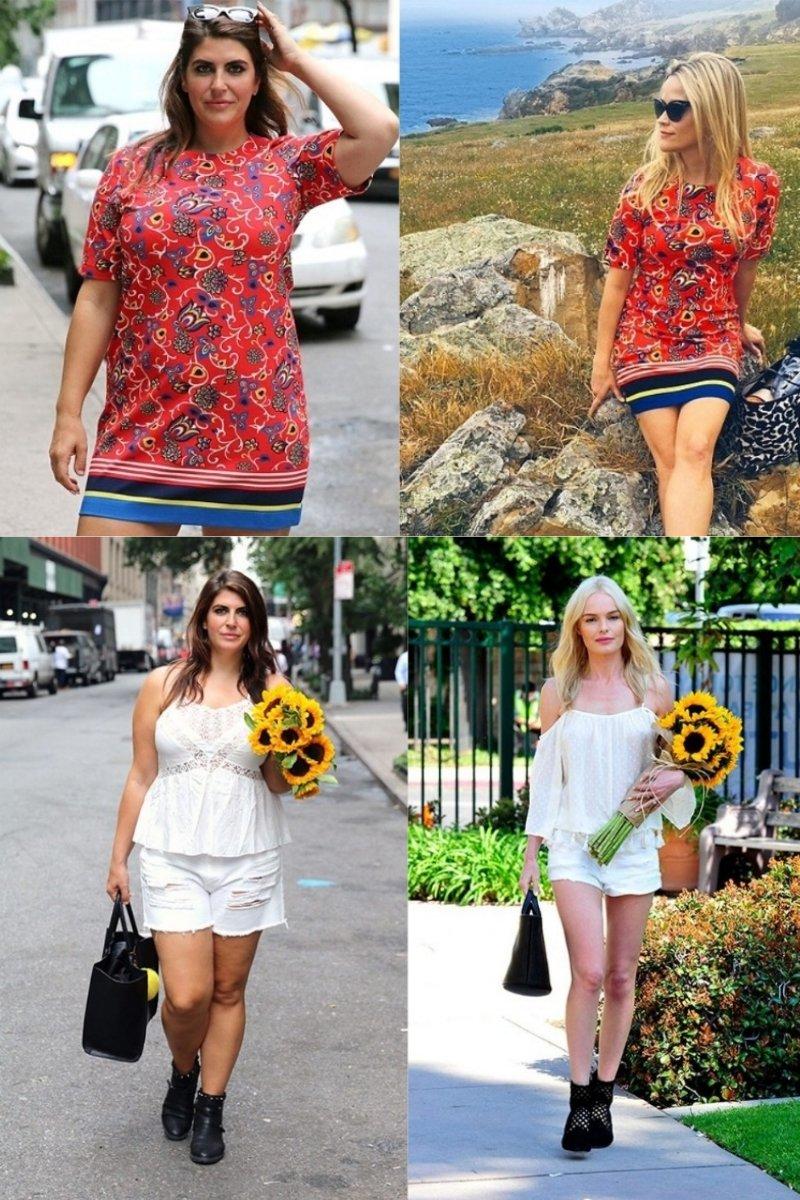 платья для девушек с пышными формами