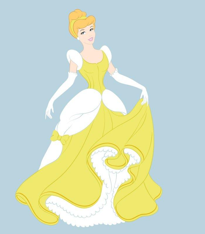 принцесса на балу