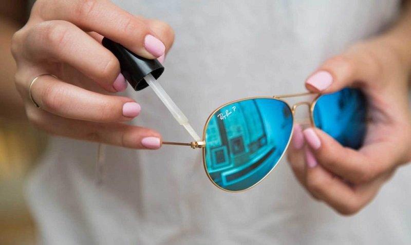 как починить очки