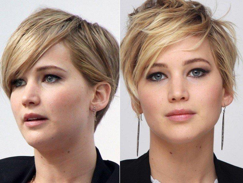 стрижки для круглого лица тонкие волосы