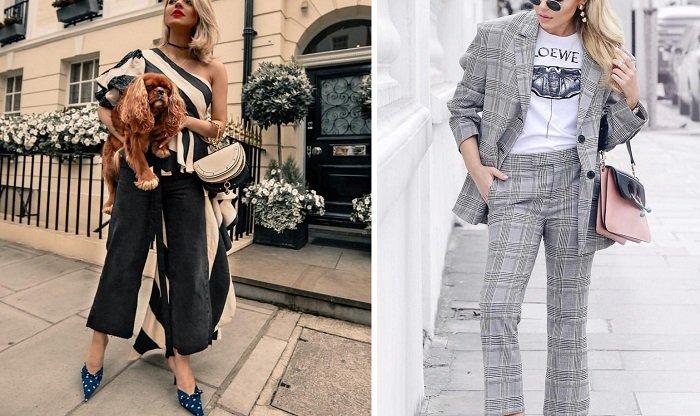 модные образы в одежде