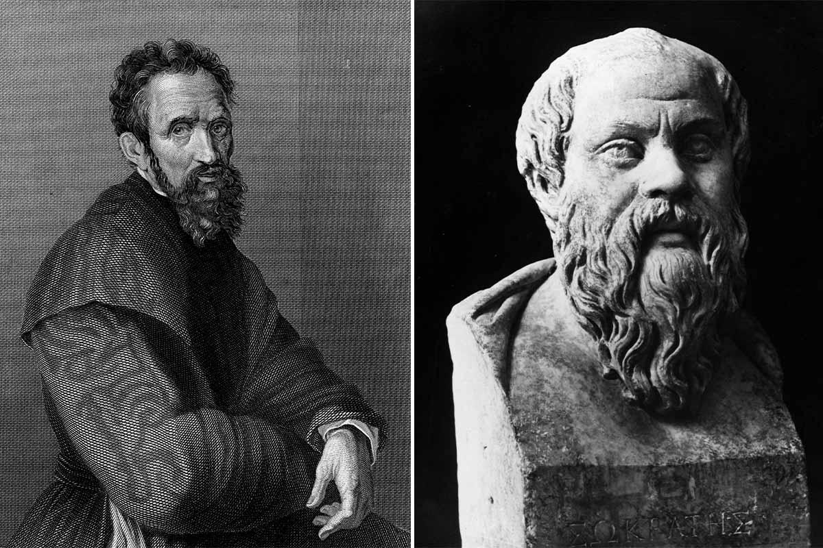 Сократ и Микеланджело