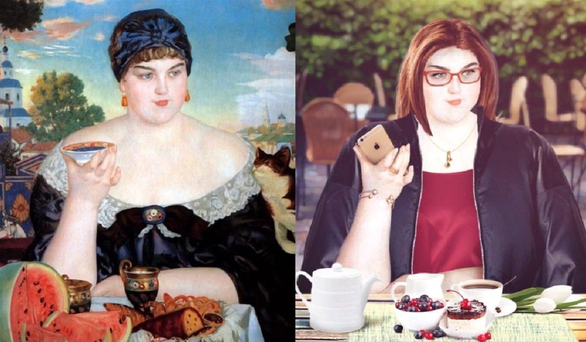 Как бы выглядели красавицы пушкинской эпохи в наше время