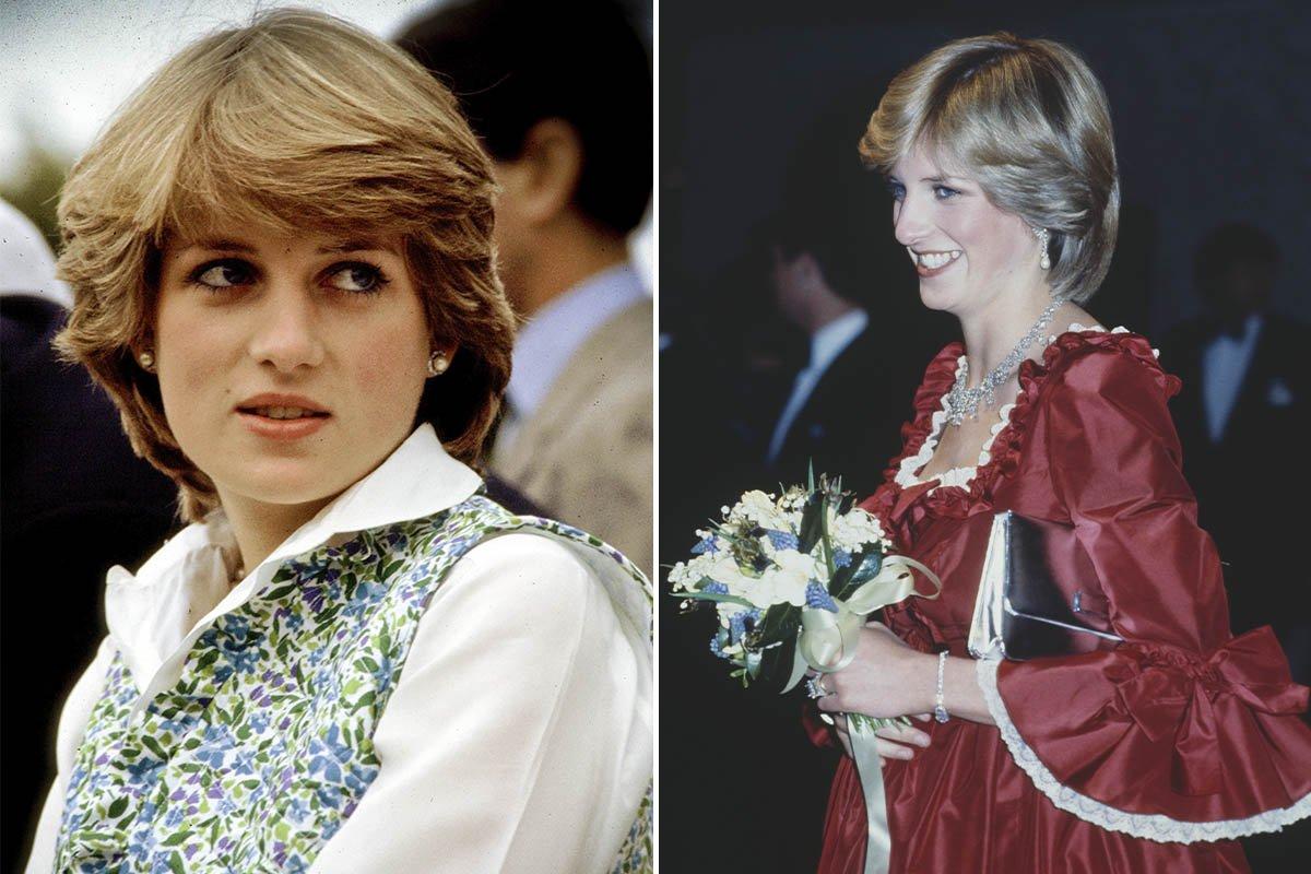 принцесса Диана в молодости