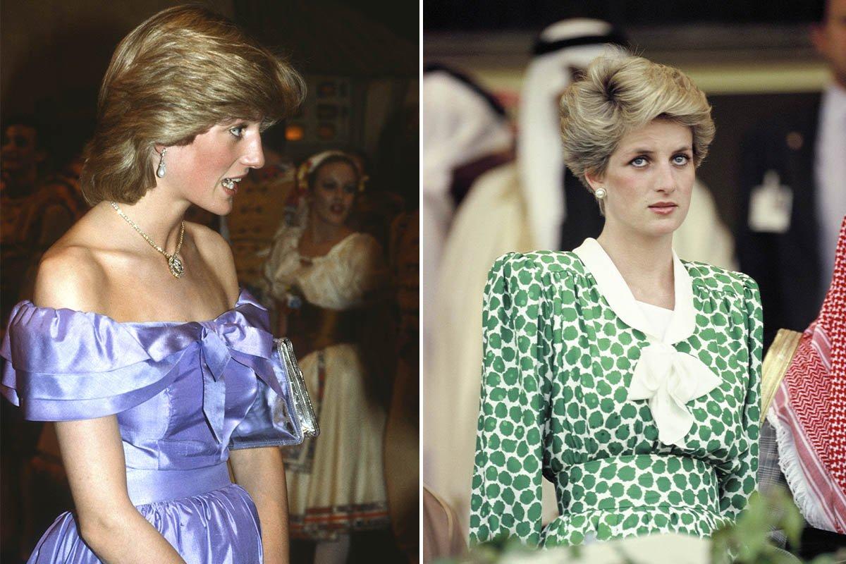 принцесса Диана в платьях