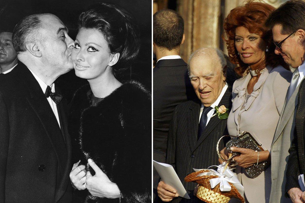 Даже Ватикан был против отношений Софи Лорен и Карло Понти, а они более 50 лет провели в любви Вдохновение,Актриса,Брак,Ватикан,Дети,Жизнь,Законы,Италия,Кино,Любовь,Роль,Свадьба,Франция