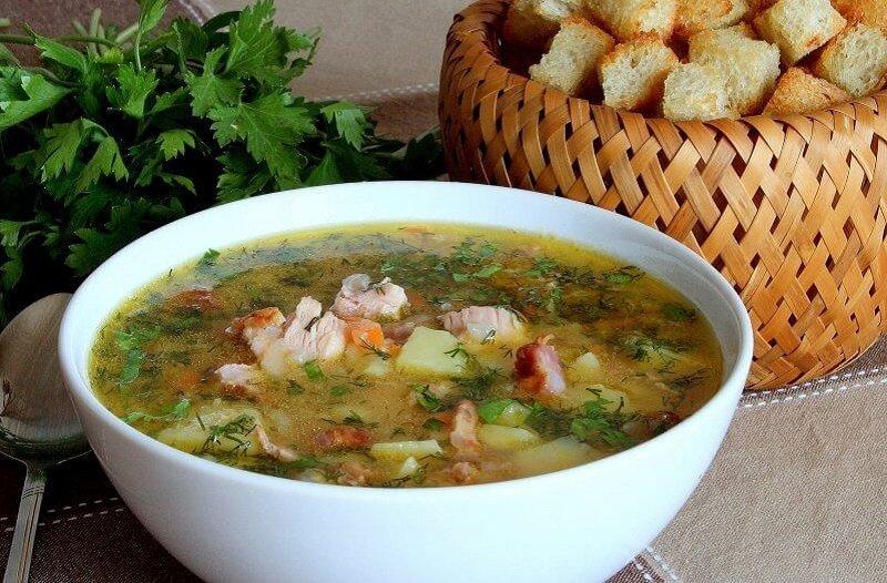 зимний суп рецепт