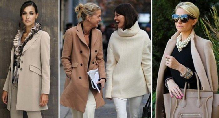 зимний гардероб для женщин за 40