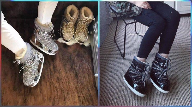 теплая зимняя обувь для женщин