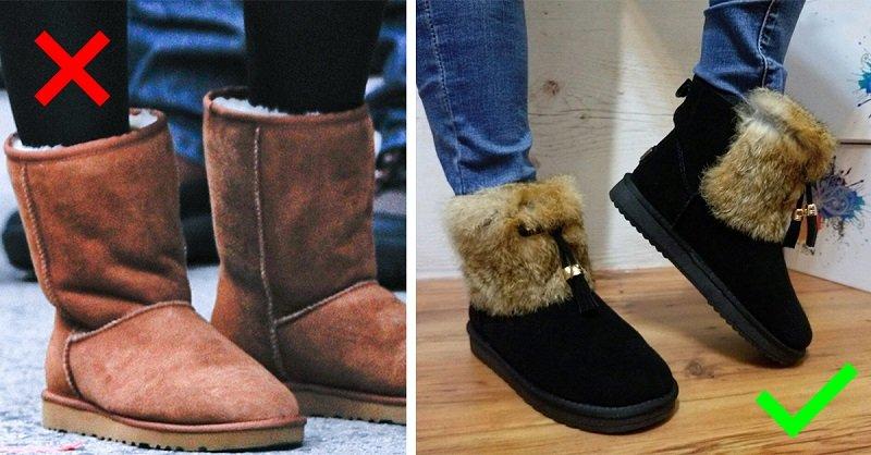 теплая зимняя обувь женская