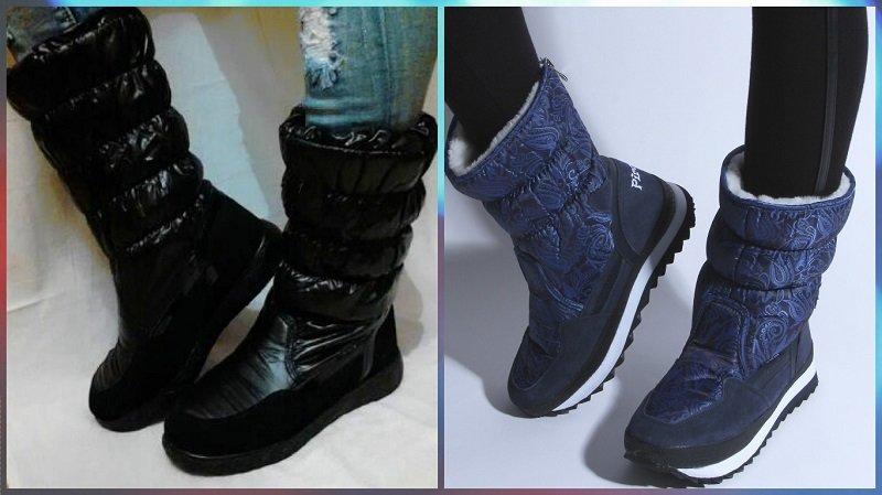 самая теплая зимняя обувь для женщин
