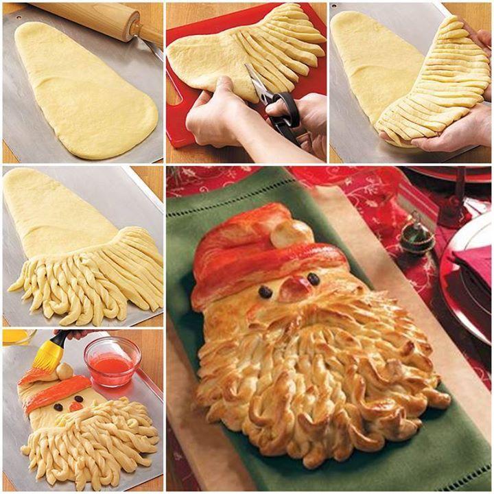 пирог Дед Мороз