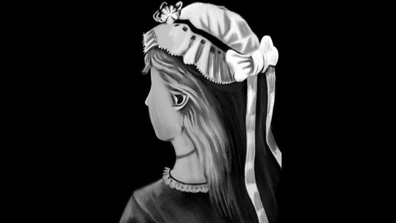 оптическая иллюзия девушка или старуха
