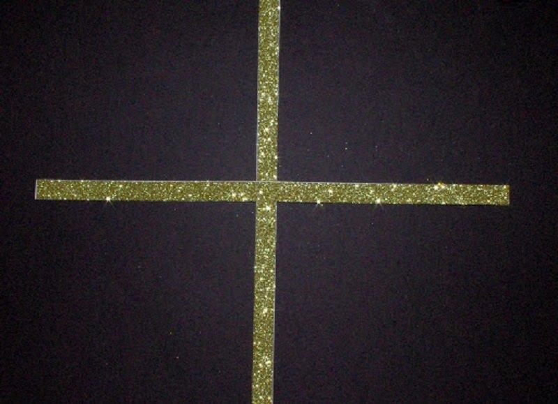 звезда на елку из картона
